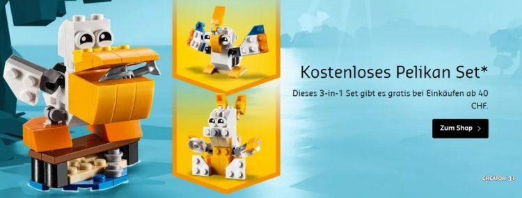 Gratis Pelikan von LEGO