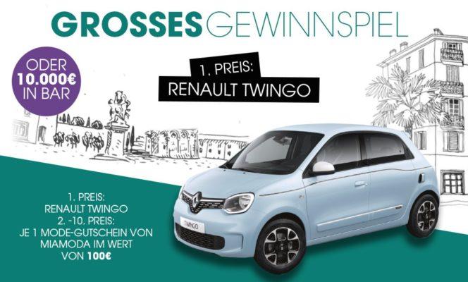 Renault bei Mia Moda gewinnen