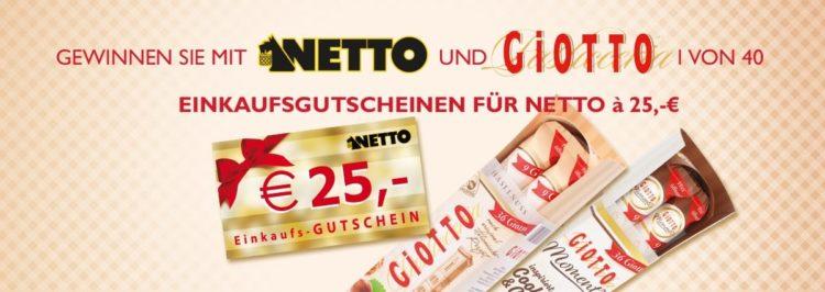 Gewinnspiel von Netto & Giotto