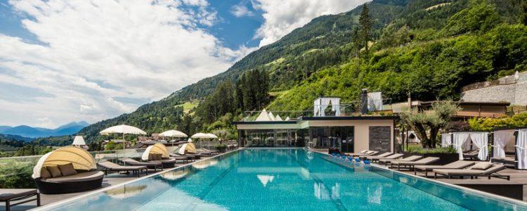 Hotelanlage in Südtirol