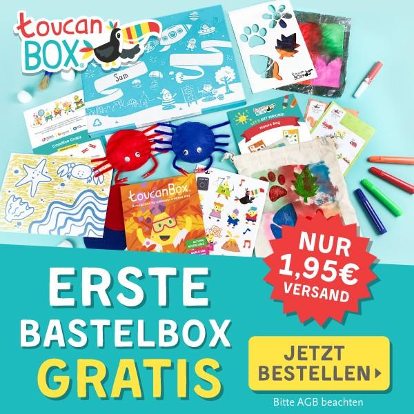 Toucanbox gratis testen