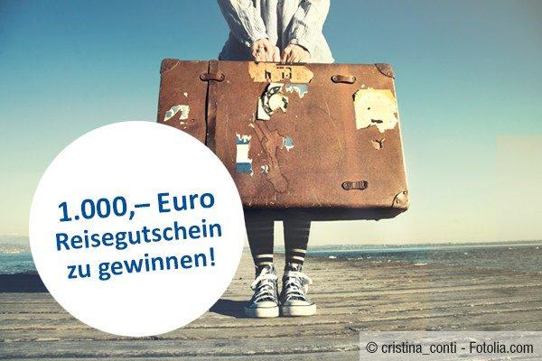 1000€ Reisegutschein Das Örtliche