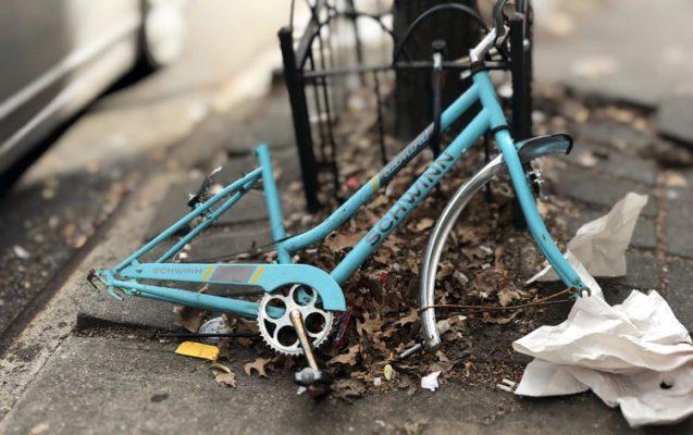 Fahrrad kaputt