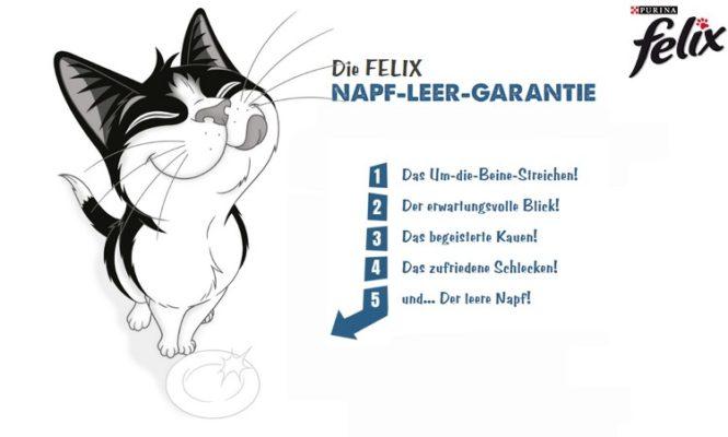 Felix Geschmacksgarantie