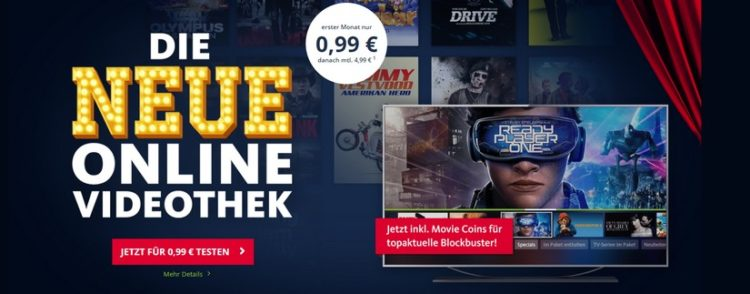 Freenet Video für 0,99€