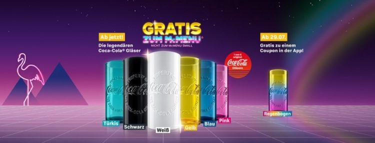 McDonalds Gläser
