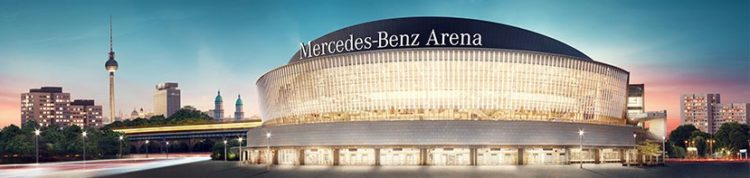 Mercedes Benz Arena in Berlin