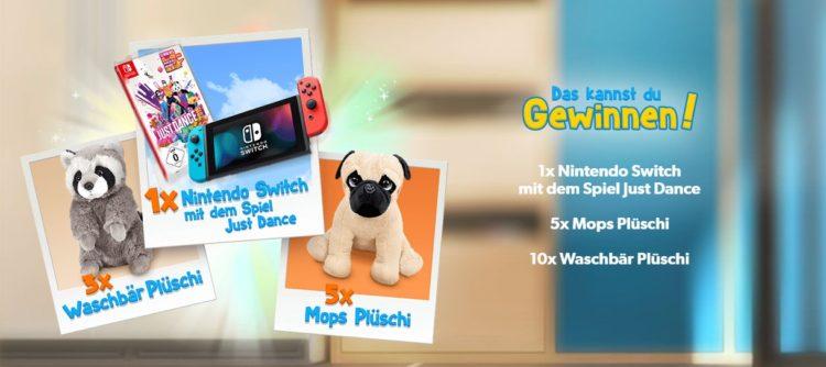 Toggo Gewinnspiel: Nintendo Switch und mehr gewinnen