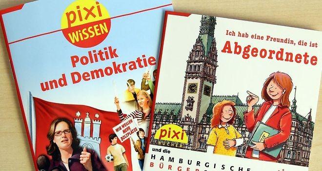 """Pixie Bücher """"Politik und Demokratie"""""""