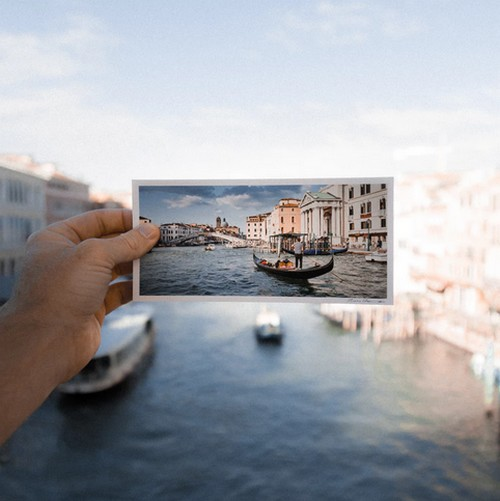 Postkarte Urlaubsbild