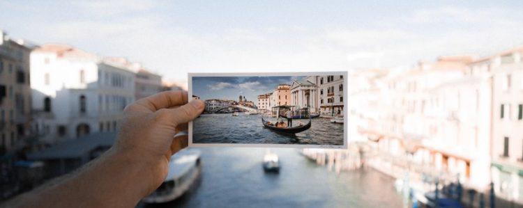 Postkarte Urlaubsmotiv