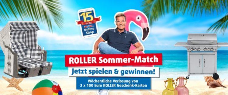 Roller Gewinnspiel Sommermatch