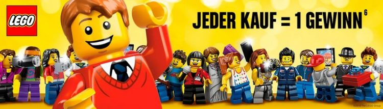 LEGO Gewinnspiel bei Rossmann