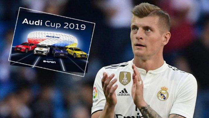 Toni Kroos Audi Cup 2019