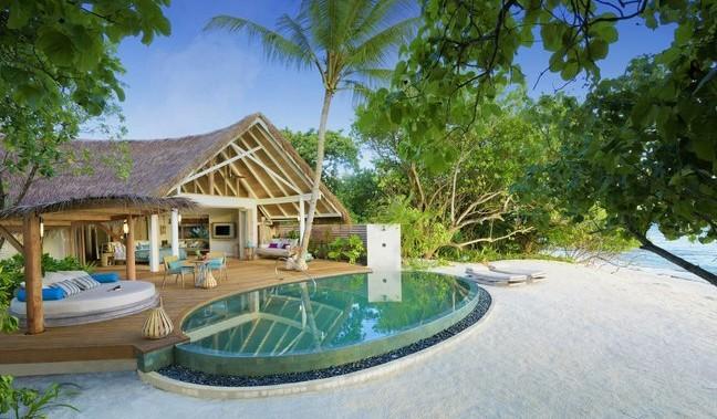 Villa auf Malediven