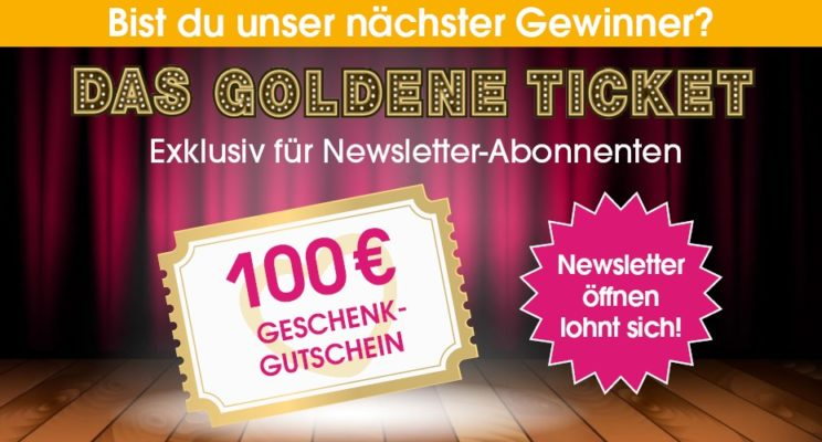 Babymarkt goldenes Ticket