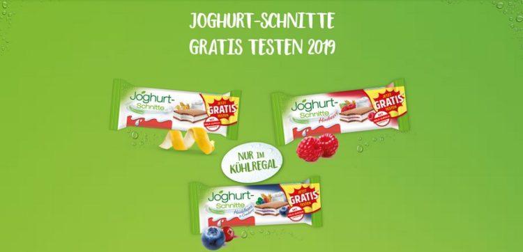 jogurtschnitte gratis testen
