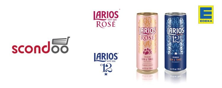 Larios Gin & Tonic mit scondoo gratis testen