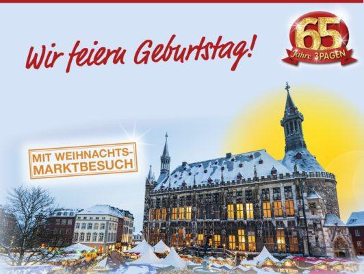 Mit 3Pagen Städtereise nach Aachen gewinnen