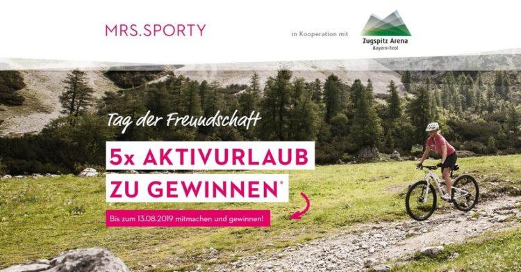 Bei Mrs Sporty Aktivurlaub gewinnen