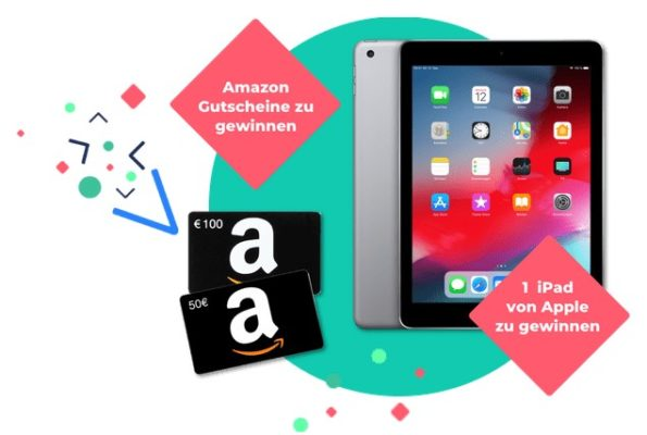 Amazon.de Gutscheine und Apple iPad