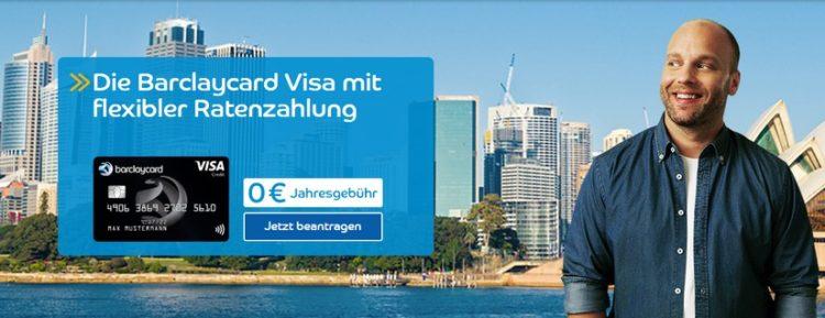 Barclaycard Visa ohne Jahresgebühr