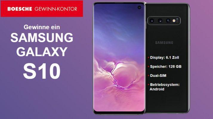 Bei Bosche Samsung Galaxy S10 gewinnen