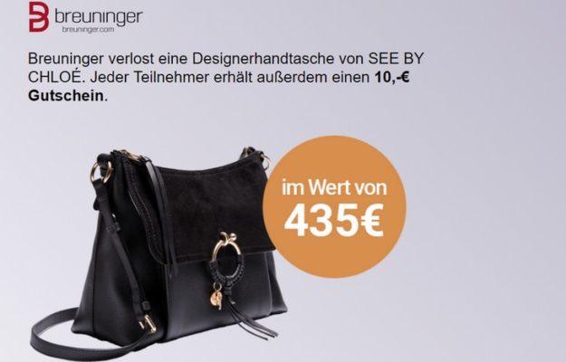 Breuninger Handtasche gewinnen