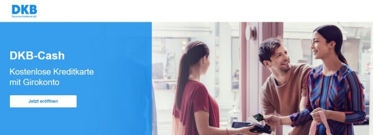DKB Cash: Kostenlose Kreditkarte + Girokonto