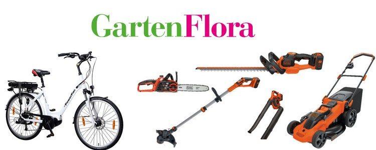 Preise beim Gartenflora Gewinnspiel