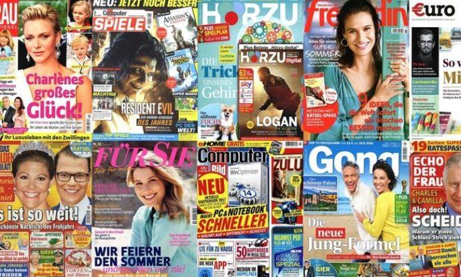 Kostenlose Zeitschriften bei Groupon