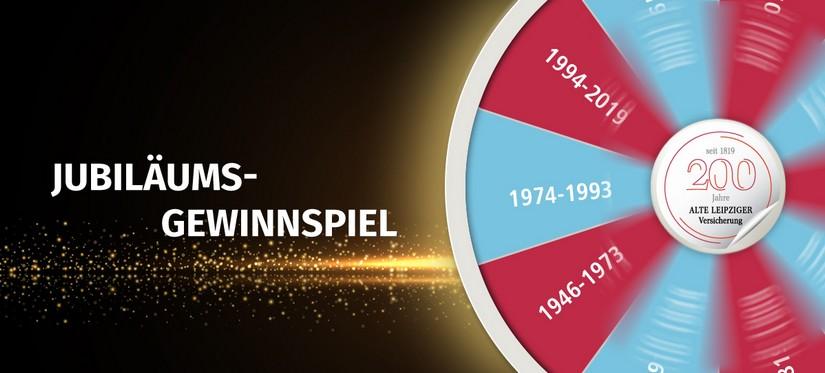 Jubiläumsgewinnspiel Alte Leipziger