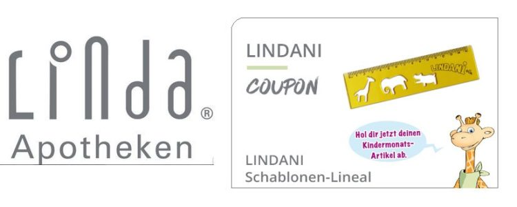 Gratis Lineal in Linda Apotheken
