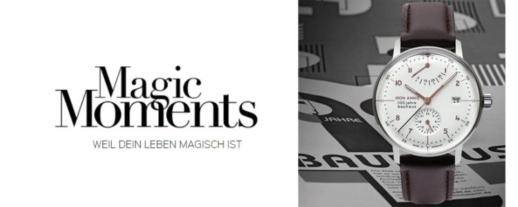 Magic Moments Gewinnspiel