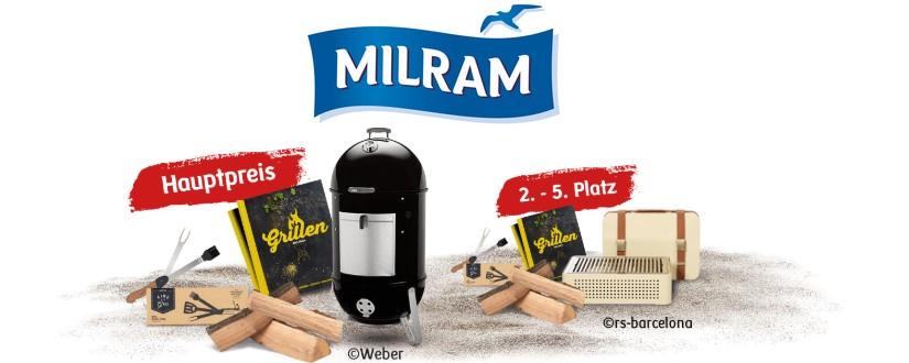 Milram Gewinnspiel Grill