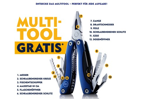 NIVEA Multitool