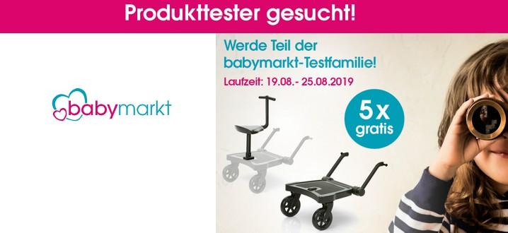 Babymarkt Produkttester