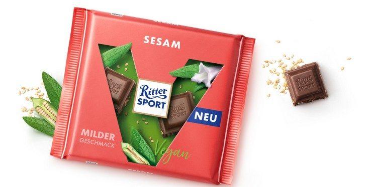 Sesam-Schokolade von Ritter Sport