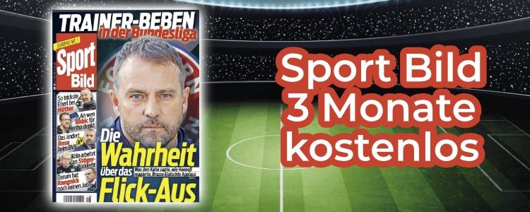 Sport Bild 3 Monate gratis lesen
