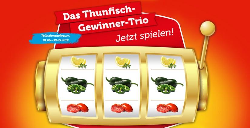 Thunfisch Gewinner Trio von Hawesta
