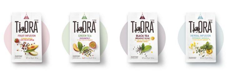 4 Sorten von TiOra