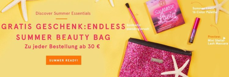 bh cosmetics beauty bag mit Inhalt