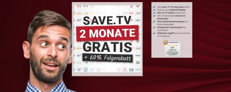 Save.TV 2 Monate gratis