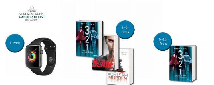 Gewinne bei Verlosung der Random House Verlagsgruppe