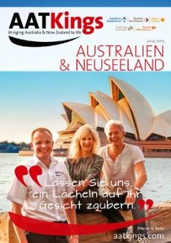 "Reisekatalog ""Australien und Neuseeland"""
