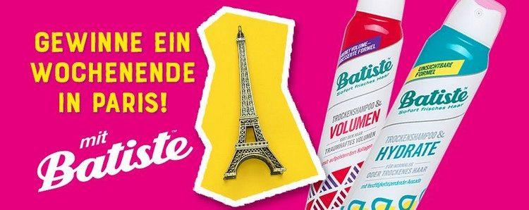 Batiste Gewinnspiel Parisreise