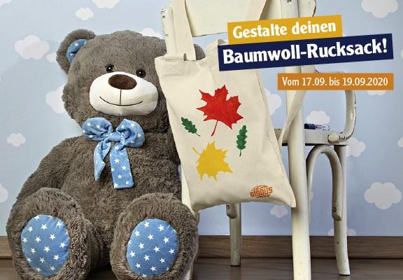 Baumwoll-Rucksack bei Globus