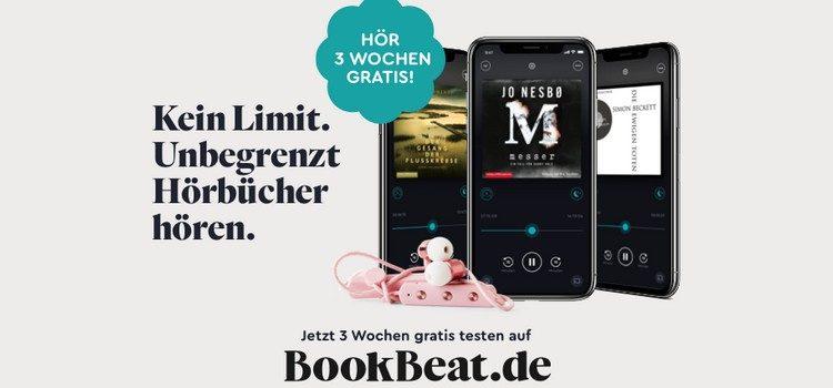 BookBeat 3 Wochen gratis testen