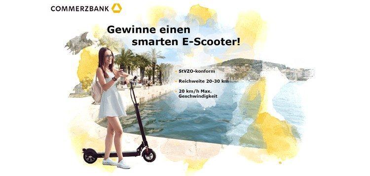 Commerzbank E-Scooter gewinnen