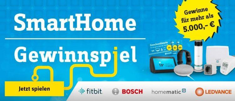 Conrad Smart Home Gewinnspiel